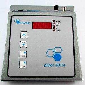 Medidores pH/Ions Modelo 450M - Analyser